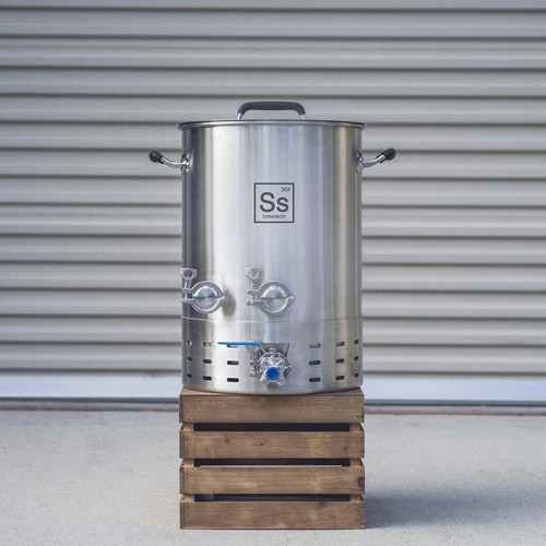 10 Gallon Ss BrewTech Kettle Brewmaster Edition