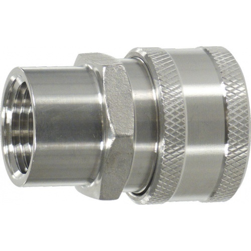 """Female Stainless Steel Quick Disconnect x 1/2"""" FPT"""