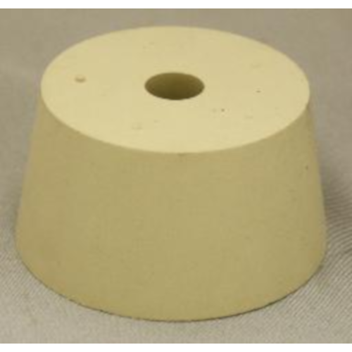 Rubber Stopper - 10 Drilled