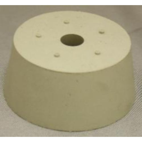 Rubber Stopper - 11 Drilled