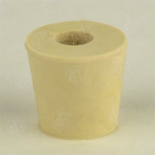 Rubber Stopper - 4 Drilled