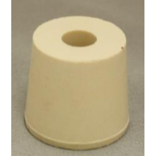 Rubber Stopper - 5.5 Drilled