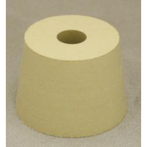 Rubber Stopper - 7 Drilled