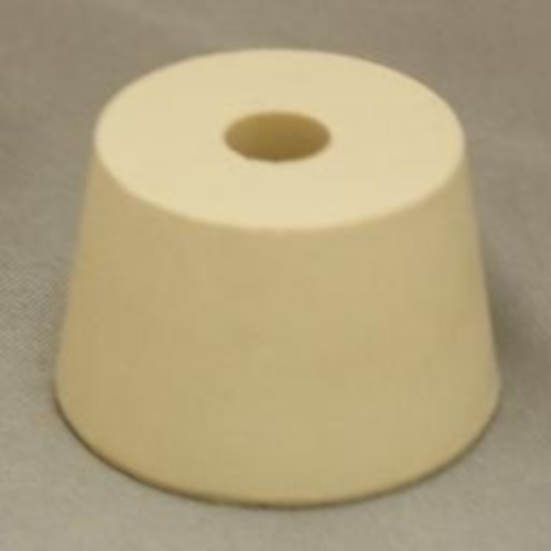 Rubber Stopper - 7.5 Drilled