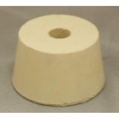 Rubber Stopper - 8.5 Drilled