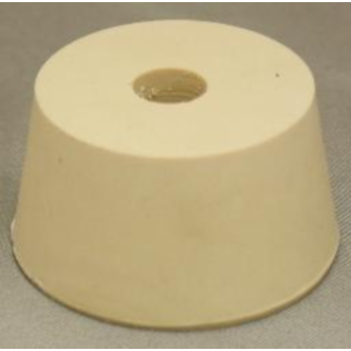 Rubber Stopper - 9.5 Drilled