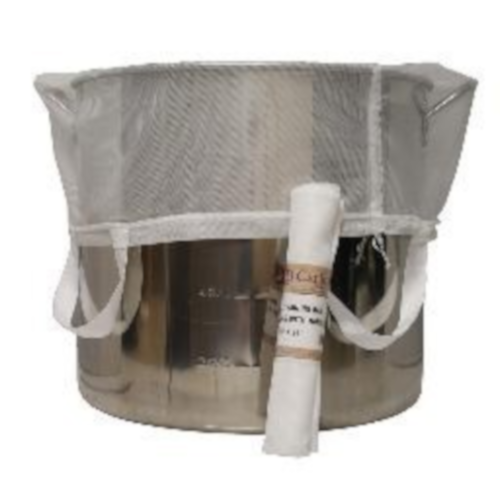 "Brew in a Bag Straining Bag - 24"" X 26"" With Handles"