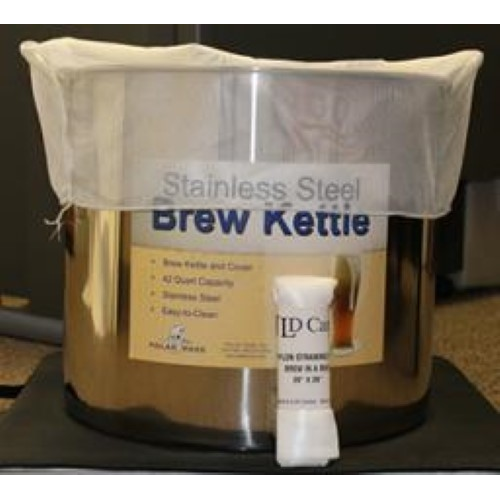 "Nylon Straining Bag - 24"" X 26"" Brew In A Bag"