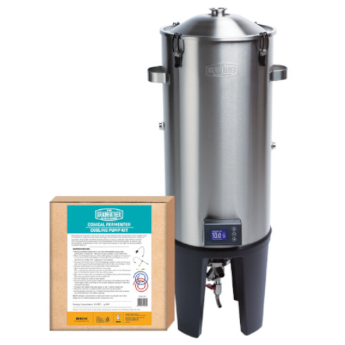The Grainfather Conical Fermentor Pro With Basic Cooling Kit
