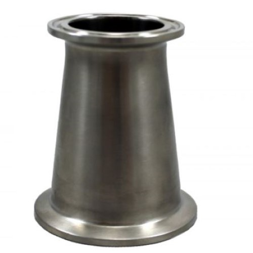 """2"""" To 3"""" Tri-Clamp Conical Reducer"""