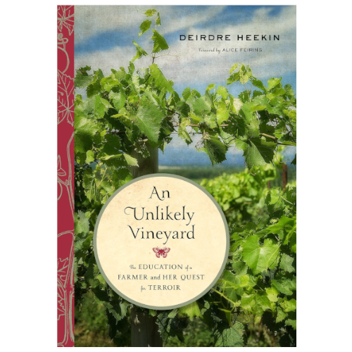 An Unlikely Vineyard Book