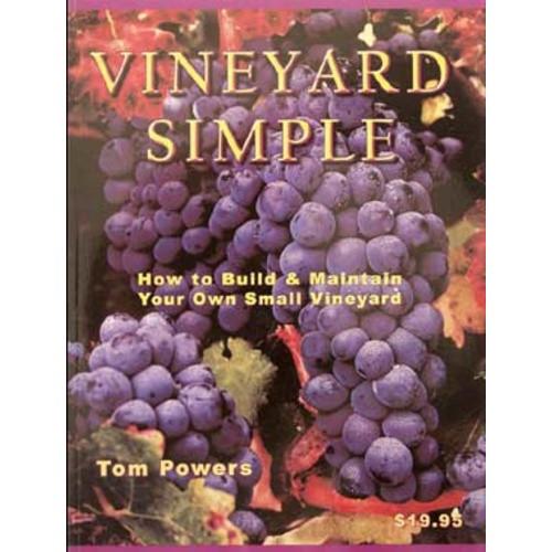 Vineyard Simple  Book