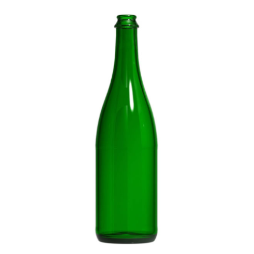 750 ml Vineyard Green Champagne Bottles - 12 Count