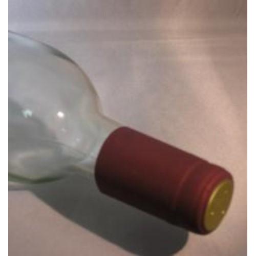 PVC Shrink Capsules - Burgundy