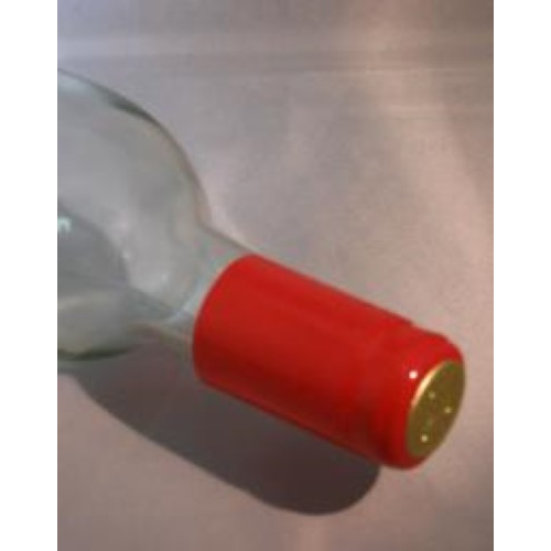 PVC Shrink Capsules - Red