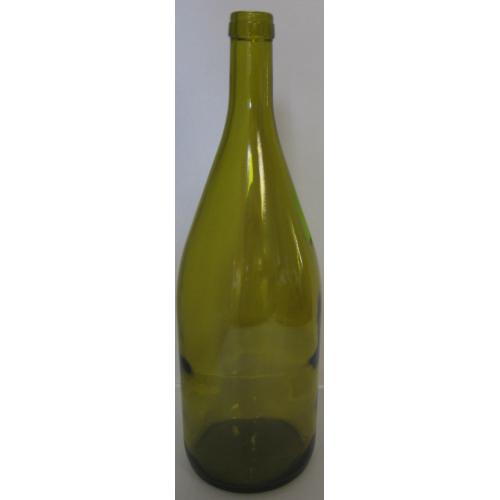 Wine Bottles - 1500 ml (1.5 L) Dead Leaf Magnum Burgundy - 6 Count