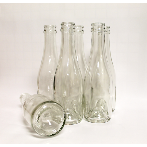 Wine Bottles - 187 ml Clear Champagne - 24 Count