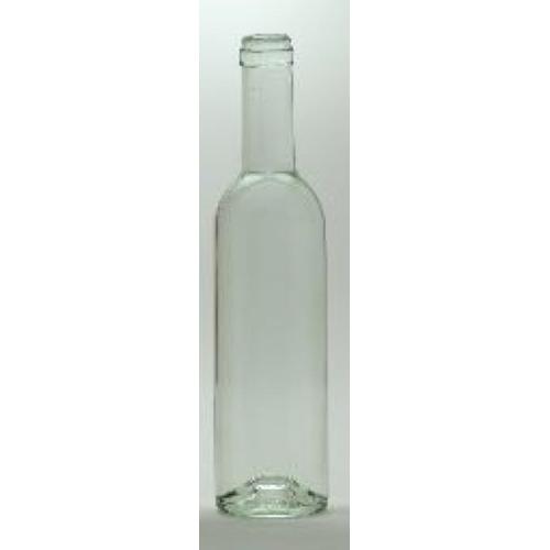 Wine Bottles - 375 ml CLEAR Semi-Burgundy - 1 Count