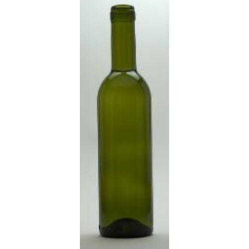Wine Bottles - 375 ML Green CG Bottles - 1 Count