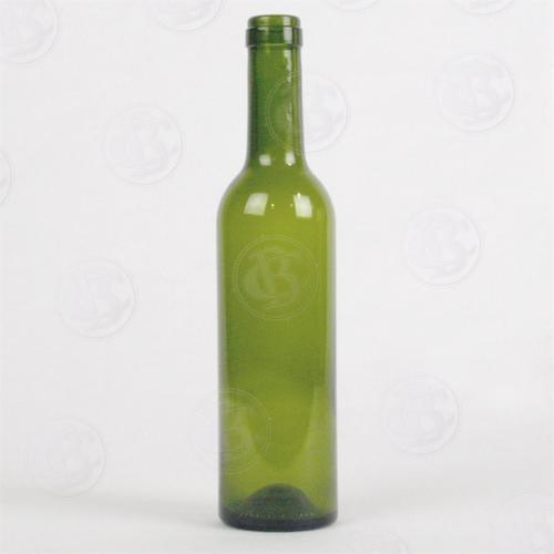 Wine Bottles - 375 ML Green CG Bottles - 24 Count