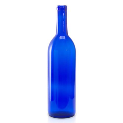 Wine Bottles - 750 ml Blue - 12/Case