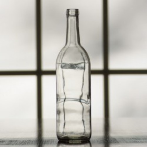 Wine Bottles - 750 ml Clear - 1 Count
