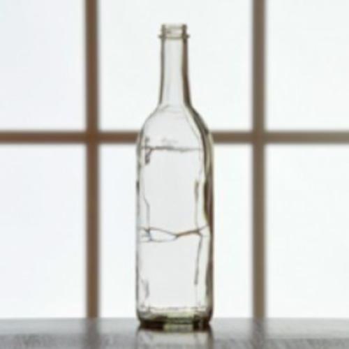 Wine Bottles - 750 ml Clear Screw Top - 12/Case