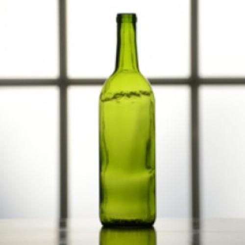 Wine Bottles - 750 ml Green - 12/Case