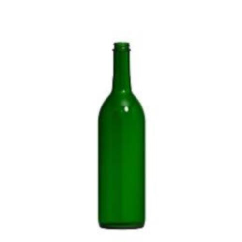 Wine Bottles - 750 ml Green Screw Top - Single