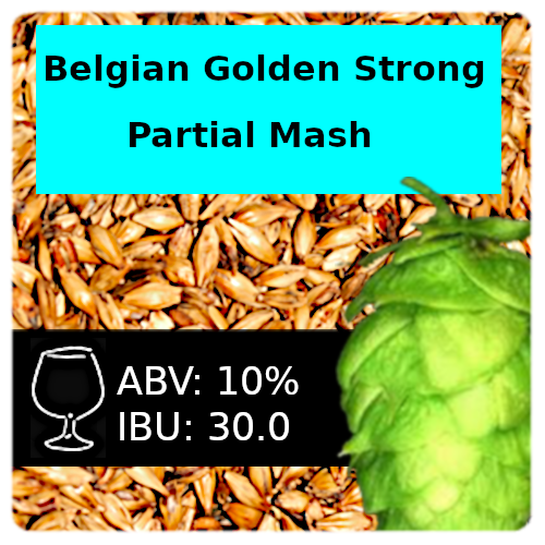 SoCo Belgian Golden Strong Ale Partial Mash