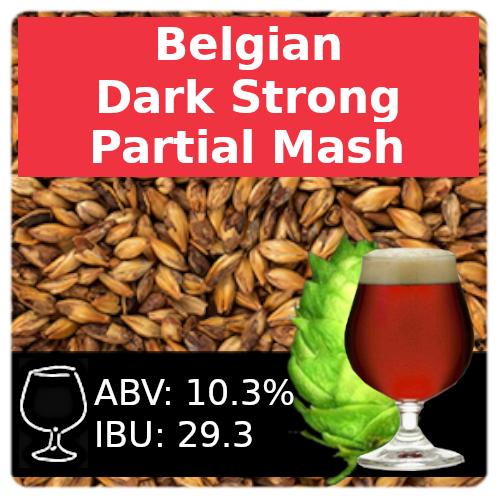 SoCo - Belgian Dark Strong Ale - Partial Mash