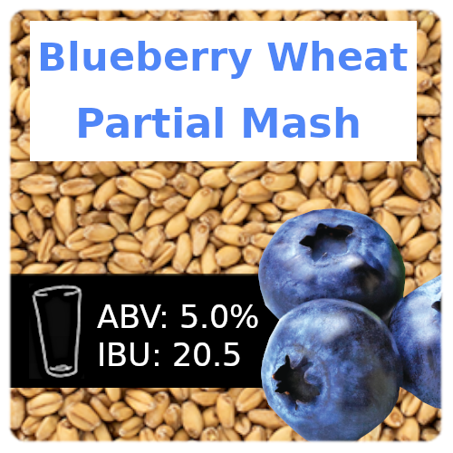 Blueberry Wheat Ale Partial Mash