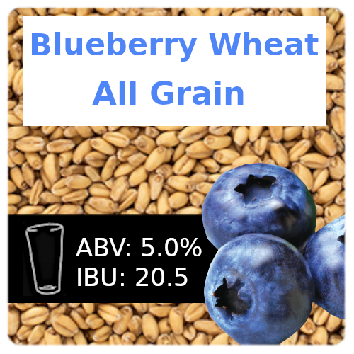Blueberry Wheat Ale All Grain
