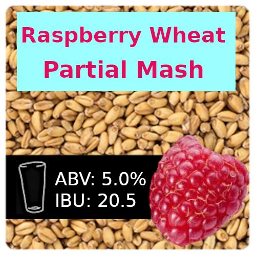 Raspberry Wheat Ale Partial Mash