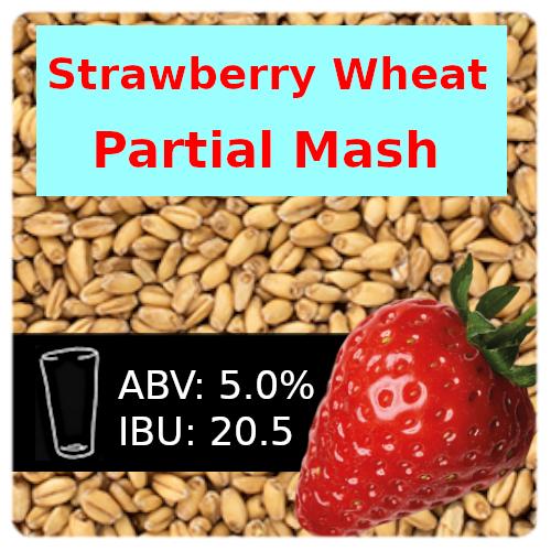 Strawberry Wheat Ale Partial Mash