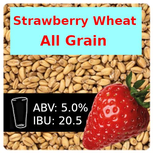Strawberry Wheat Ale All Grain