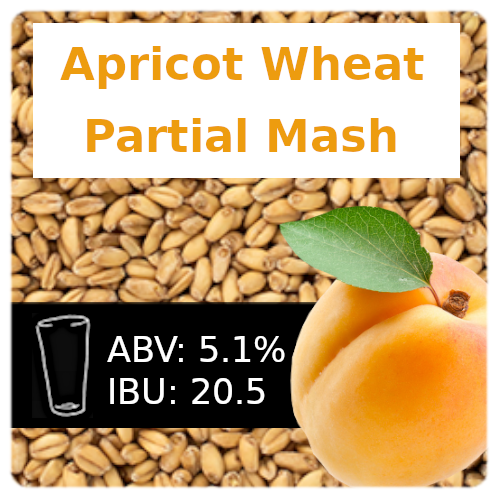 Apricot Wheat Ale Partial Mash