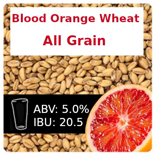 Blood Orange Wheat Ale All Grain