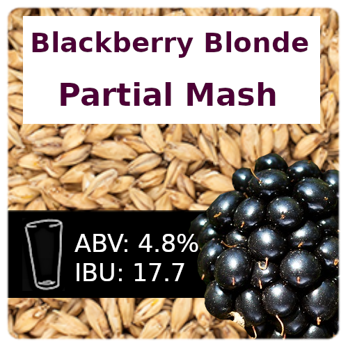 Blackberry Blonde Partial Mash