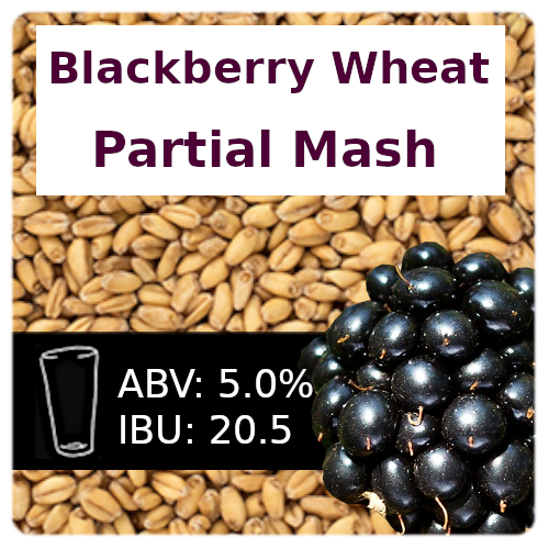 Blackberry Wheat Ale Partial Mash