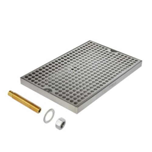 """8"""" x 12"""" Surface Drip Tray (With Drain)"""