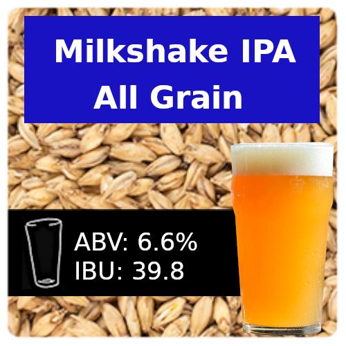 SoCo Milkshake IPA All Grain Recipe