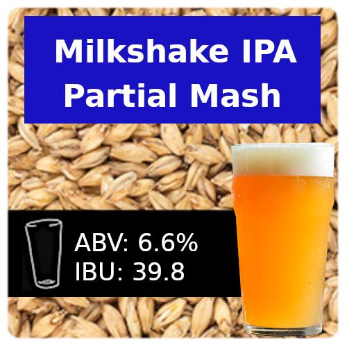 SoCo Milkshake IPA Partial Mash Recipe