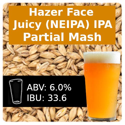 SoCo Hazer Face Juicy IPA (NEIPA) Partial Mash