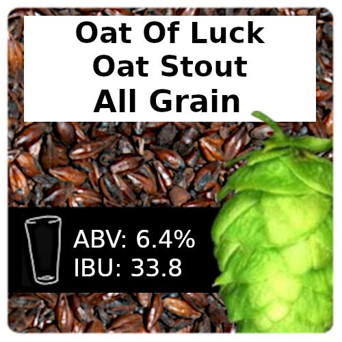 SoCo Oat of Luck Oat Stout All Grain Recipe Kit