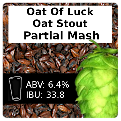 SoCo Oat of Luck Oat Stout Partial Mash Recipe Kit