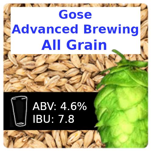 SoCo Gose (Kettle Sour) Advanced Brewing All Grain Recipe Kit