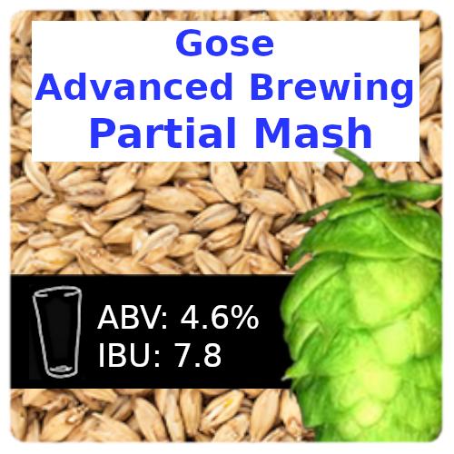 SoCo Gose (Kettle Sour) Advanced Brewing Partial Mash Recipe Kit