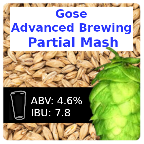 SoCo Gose (Kettle Sour) Advanced Brewing Partial Mash Recipe Kit