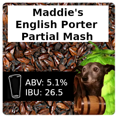 Maddie's English Porter Partial Mash Recipe Kit